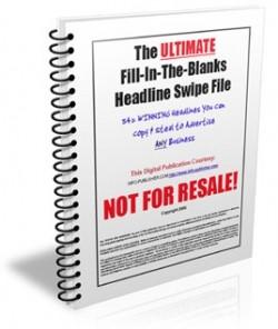 Headline Swipe File Personal Use Ebook