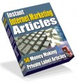 Instant Internet Marketing Articles PLR Article