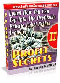 Profit Secrets II Resale Rights Ebook