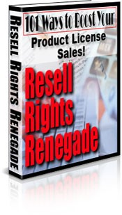 Resell Rights Renegade MRR Ebook