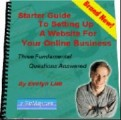 Starter Guide To Setting Up A Website Resale Rights Ebook