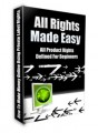 All Rights Made Easy MRR Ebook