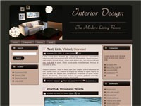 Living Room WordPress Theme Resale Rights Template