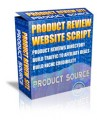 Product Review Website Script MRR Script