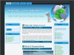 Save The World Wordpress Theme Resale Rights Template