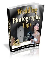 Wedding Photography Tips Mrr Ebook