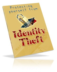 Protecting Yourself From Identity Theft PLR Ebook