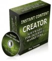 Instant Content Creator Resale Rights Software