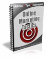 Online Marketing Tactics Newsletter Plr Autoresponder ...