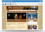 Play Guitar Fast Blog Theme Personal Use Template