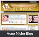 Acne Niche Blog Personal Use Template