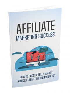 Affiliate Marketing Success MRR Ebook