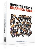 Business People Graphics Pack Personal Use Graphic