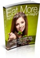 Eat More Not Less To Lose Weight Give Away Rights Ebook