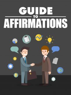 Guide To Affirmations MRR Ebook