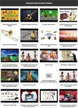 Musical Instruments Instant Mobile Video Site MRR Software