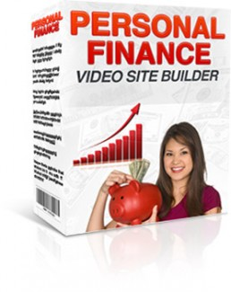 Personal Finance Video Site Builder Give Away Rights Software