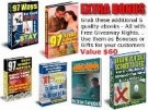 6 Pack Bonus Ebooks Plus Resale Rights Software