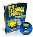 How To Research A Product Mrr Video
