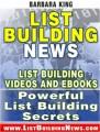 List Building News PLR Ebook