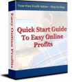 Quick Start Guide To Easy Online Profits Resale Rights Ebook