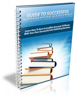 Guide To Information Marketing PLR Ebook