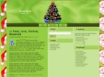 Christmas Wordpress Themes Resale Rights Template