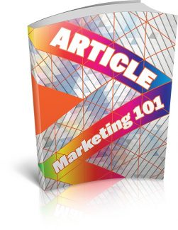 Article Marketing 101 MRR Ebook