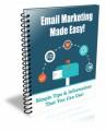 Email Marketing Made Easy PLR Autoresponder Messages