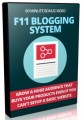 F11 Blogging System PLR Video
