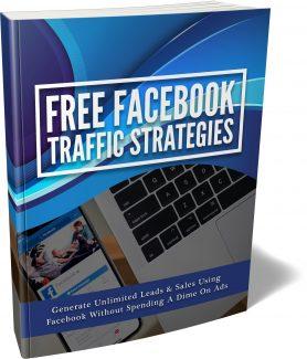 Free Facebook Traffic Strategies MRR Ebook