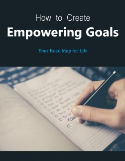 How To Create Empowering Goals PLR Ebook