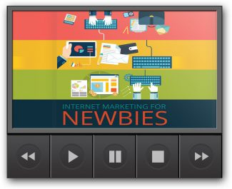 Internet Marketing For Newbies Deluxe MRR Video With Audio