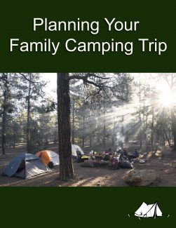 Planning A Family Camping Trip PLR Ebook
