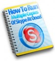 Run Multiple Copies Of Skype At Once PLR Ebook