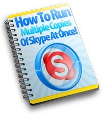 Run Multiple Copies Of Skype At Once PLR Ebook