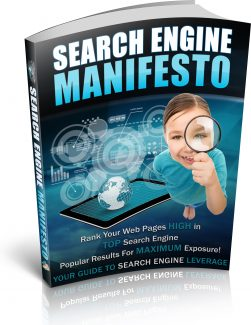 Search Engine Manifesto PLR Ebook