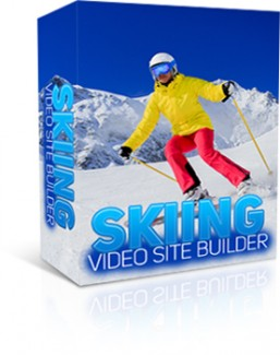 Skiing Video Site Builder Give Away Rights Software