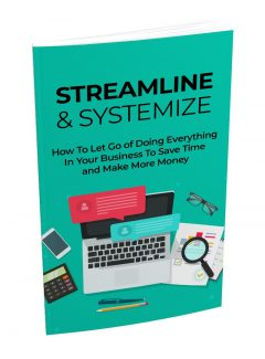 Streamline And Systemize MRR Ebook With Audio