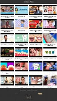 Tooth Care Instant Mobile Video Site MRR Software