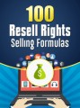 100 Resell Rights Selling Formulas PLR Ebook