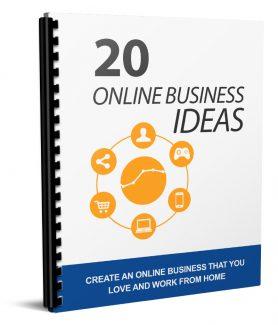 20 Online Business Ideas MRR Ebook
