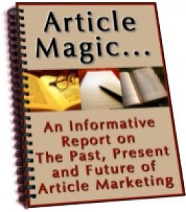Article Magic Plr Ebook