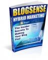 Blog Sense Hybrid Marketing Resale Rights Ebook