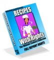 Recipes With Rights MRR Ebook