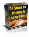 The 10 Steps To Make A Living Online Give Away Rights Ebook