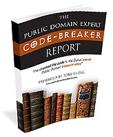 The Public Domain Expert Code-Breaker Report Resale Rights Ebook