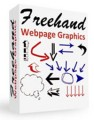 Freehand Webpage Graphics Resale Rights Graphic