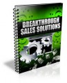 Breakthrough Sales Solutions PLR Ebook With Video