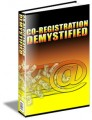 Co-Registration Demystified Resale Rights Ebook